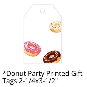 50 Donut Gift Tags PRICE IS FIRM